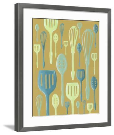 Spring Cutlery I-Vanna Lam-Framed Art Print