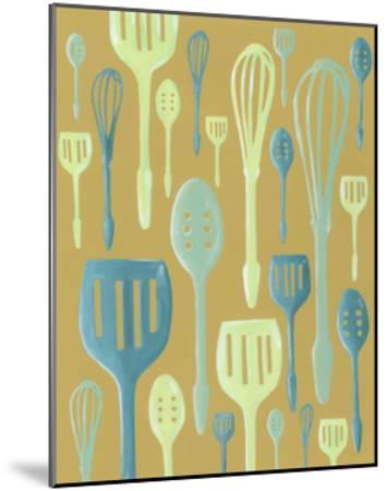 Spring Cutlery I-Vanna Lam-Mounted Art Print