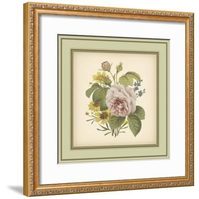 Tuscany Bouquet VIII-Vision Studio-Framed Art Print