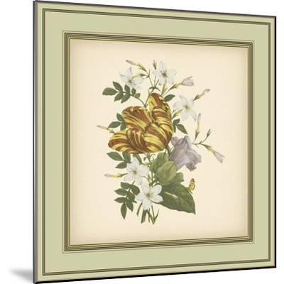 Tuscany Bouquet IX-Vision Studio-Mounted Art Print