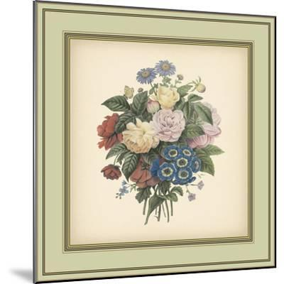 Tuscany Bouquet II-Vision Studio-Mounted Art Print