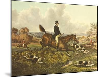 The English Hunt VII-Henry Alken-Mounted Art Print