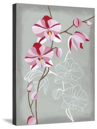 Floral Echo I-Vanna Lam-Stretched Canvas Print