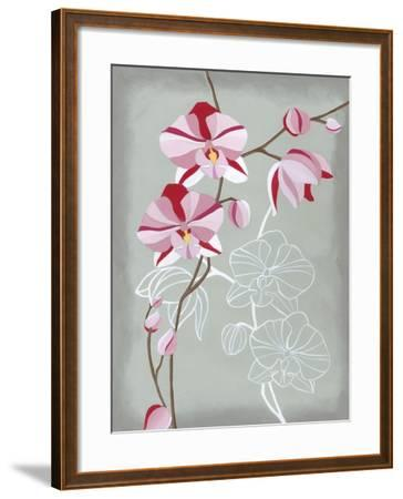 Floral Echo I-Vanna Lam-Framed Art Print