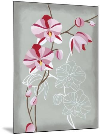 Floral Echo I-Vanna Lam-Mounted Art Print