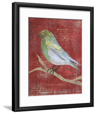 Paper Bird I-Jennifer DeDonato-Framed Art Print