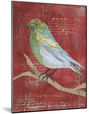 Paper Bird I-Jennifer DeDonato-Mounted Art Print