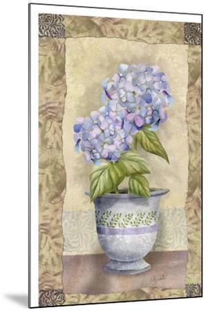 Spring Hydrangea-Abby White-Mounted Art Print