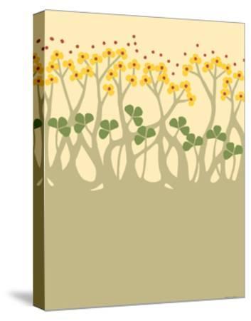 Organic Grove III-Vanna Lam-Stretched Canvas Print