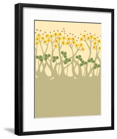 Organic Grove III-Vanna Lam-Framed Art Print