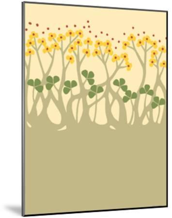 Organic Grove III-Vanna Lam-Mounted Art Print