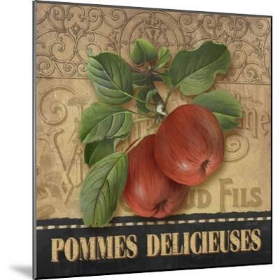 Delicious Apples-Abby White-Mounted Art Print