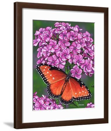 Queen-Marilyn Barkhouse-Framed Art Print
