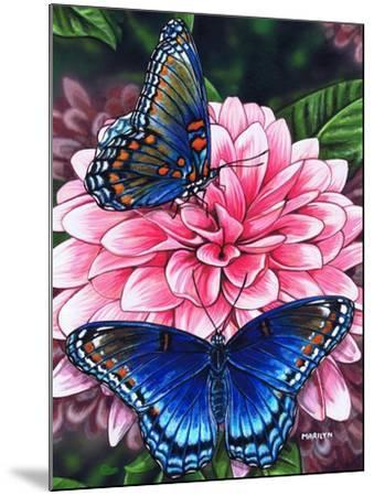 Red Spotted Purple-Marilyn Barkhouse-Mounted Art Print