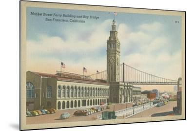 San Francisco- Market Street--Mounted Art Print
