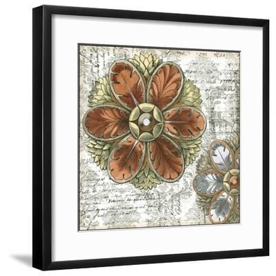 Mini Vintage Rosette I-Vision Studio-Framed Art Print