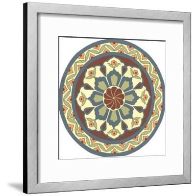 Mandalas I-Vanna Lam-Framed Art Print
