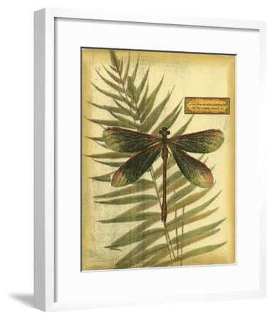 Royal Dragonflies IV--Framed Art Print