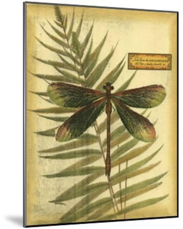 Royal Dragonflies IV--Mounted Art Print