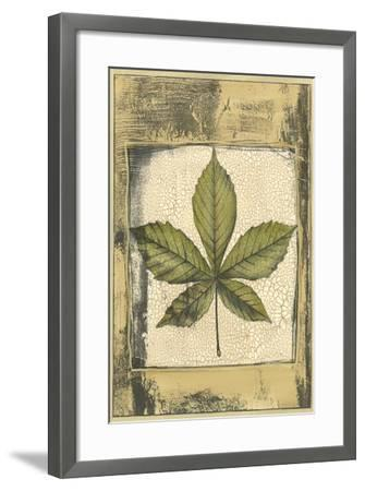 Small Spring Foliage III-Jennifer Goldberger-Framed Art Print