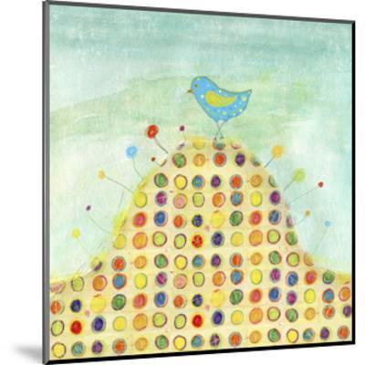 Feathers, Dots & Stripes XIII-Ingrid Blixt-Mounted Art Print