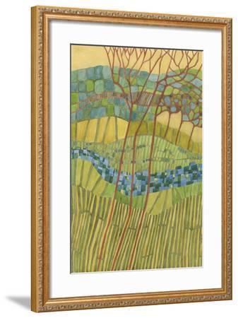 Kaleidoscope-Vanna Lam-Framed Art Print