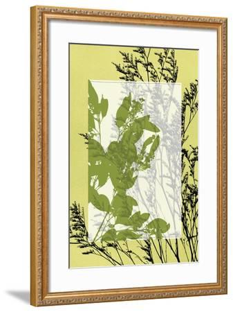 Small Translucent Wildflowers III-Jennifer Goldberger-Framed Art Print
