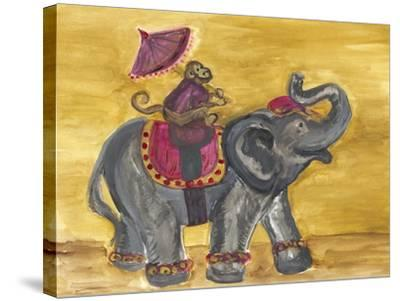 Delhi Parade I-Lisa Choate-Stretched Canvas Print