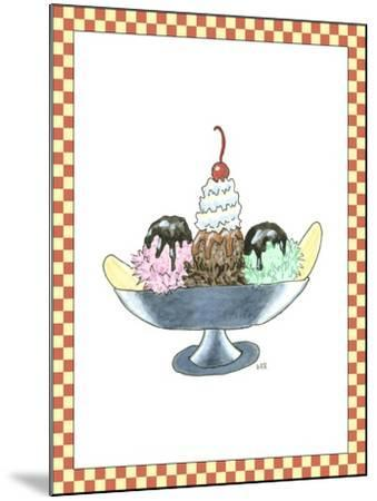 Ice Cream Parlor IV-Virginia A^ Roper-Mounted Art Print
