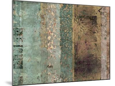 Lotus Patina I-Ricki Mountain-Mounted Art Print