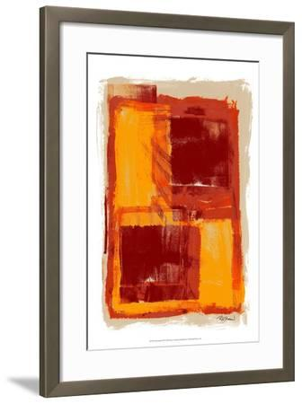 Monoprint III-Renee W^ Stramel-Framed Art Print