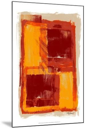 Monoprint III-Renee W^ Stramel-Mounted Art Print