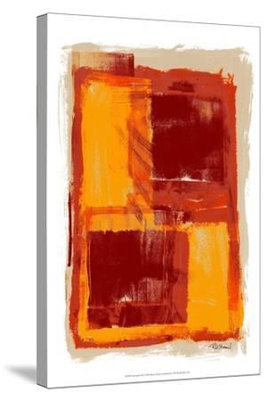 Monoprint III-Renee W^ Stramel-Stretched Canvas Print