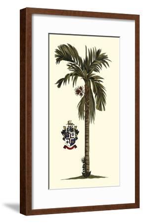 Elongated Exotic Palm II--Framed Art Print