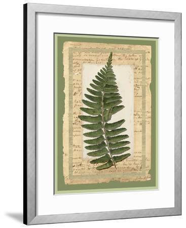 Woodland Scrapbook I-Vision Studio-Framed Art Print