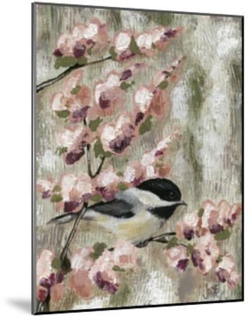 Cherry Blossom Bird I-Jade Reynolds-Mounted Art Print
