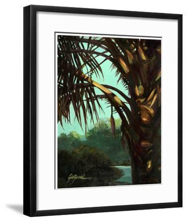 Dark Palm-Suzanne Wilkins-Framed Art Print