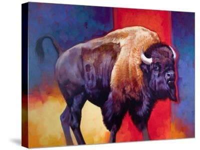 American Original-The Boss-Julie Chapman-Stretched Canvas Print