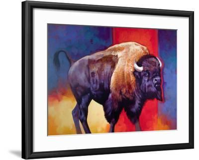 American Original-The Boss-Julie Chapman-Framed Art Print