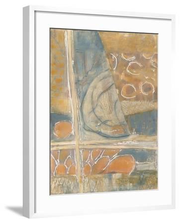 Layers of Pastel I-Karen Deans-Framed Art Print
