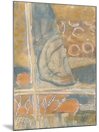 Layers of Pastel I-Karen Deans-Mounted Art Print