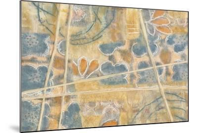 Layers of Pastel II-Karen Deans-Mounted Art Print