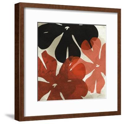 Bloomer Tiles IV-James Burghardt-Framed Art Print