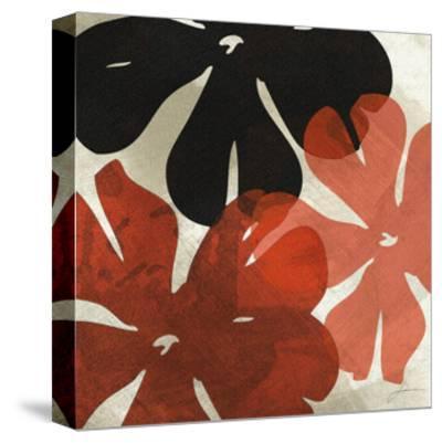 Bloomer Tiles IV-James Burghardt-Stretched Canvas Print