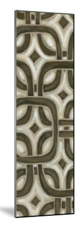 2-Up Earthen Patterns VI-Karen Deans-Mounted Art Print