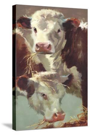 Hef 'n' Her-Carolyne Hawley-Stretched Canvas Print