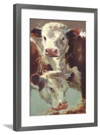Hef 'n' Her-Carolyne Hawley-Framed Art Print