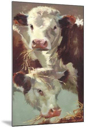 Hef 'n' Her-Carolyne Hawley-Mounted Art Print