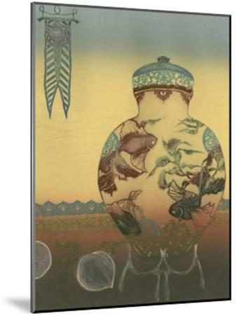 Halcyon Urn II--Mounted Art Print
