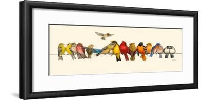 Bird Menagerie I-Wendy Russell-Framed Art Print